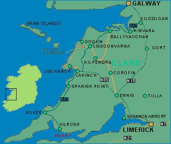 Map Of Ireland Doolin.Directions Doolin County Clare Doolin Ireland Maps Doolin
